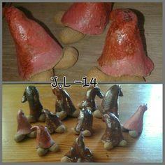 Christmas elves. Gnomes. Joulutonttuja. Tontut.