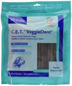 C.E.T. VeggieDent Regular Size Save Big, Package of 90 Regular Chews by Virbac * For more information, visit image link. (This is an affiliate link and I receive a commission for the sales) #PetCats