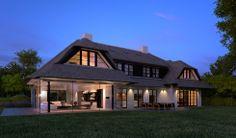 3d visualisatie villa avondsfeer impressie visual artist impression 3d sfeerimpressie fotorealistisch axes virtual creations amersfoort