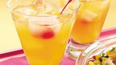 For a pretty sparkler, mix up a pitcher of this simple blend, a perfect balance of sweet and sour fruit flavors, with plenty of refreshing bubbles.