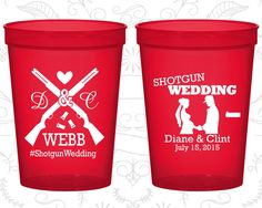 Custom Stadium Cups, Personalized Cups, Wedding Cups, Personalized Plastic Cups, Stadium Cups, Party Cups, Plastic Cups (562)