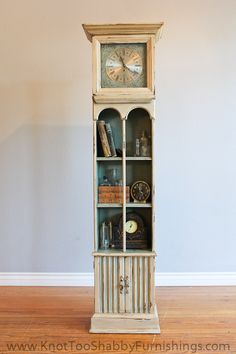 Annie Stone Chalk Painted Grandfather Clock