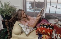 "Peggy Lipton at home.  Ahh... the 60's undercover TV sleuth -- groovy Narcs --- THE MOD SQUAD. and ""Link"" would say..... ""Solid"".  There was almost zero dialogue."