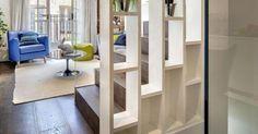 Pour réussir l'organisation de l'espace chez vous voyez nos belles idées en photos avec des cloisons, des meubles et des étagères séparation de pièce qu'on a pi
