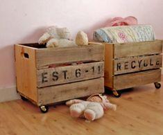 Ideas para decorar con cajas | Decorar tu casa es facilisimo.com