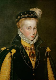 Anna d'Autriche, reine d'Espagne, 1570 Antonis Mor