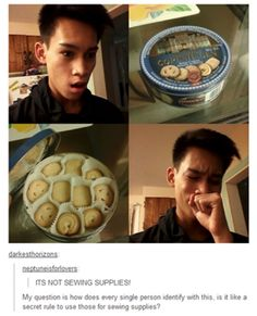 Dammit, Nanaw! Again with the sewing supplies!!
