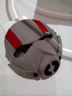 Try to make antman felt mask. Need more excercise to make it perpect.