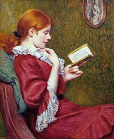 The Good Book                                        Federico Zandomeneghi    - 1897