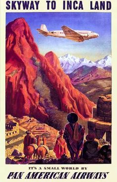 I love travel posters from the 1930's.