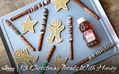 Make your holidays even sweeter with these Christmas treats ... and a little bit of honey!