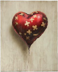 Chris Martin bought a $650,000 painting on wood of a heart shaped ballon painted by the British street artist Banksy.