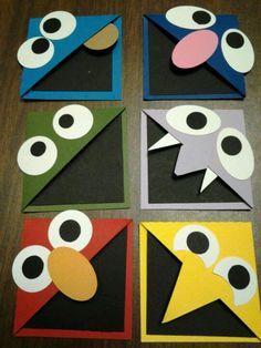 Sesame Street book marks