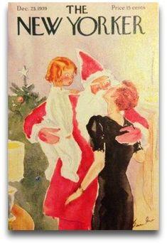 mama kissing santa claus - Google Search