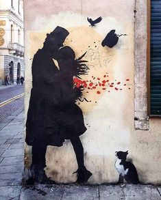 Beeindruckende Street Art von Kenny Random, der neuen Banksy of the Streets - Sokak Sanatı / Street Art - Arte Banksy, Banksy Art, Bansky, Amazing Street Art, Amazing Art, Street Art Love, Urbane Kunst, Grafiti, Urban Street Art