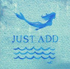 Just add...