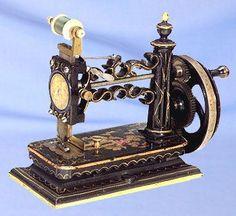 "Hoje classificado como o tipo de ""modelo magro"", este modelo de Shaw & Clark foi produzido nos EUA por volta de 1860"