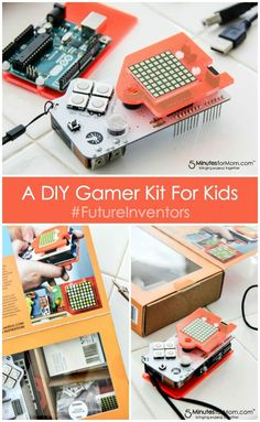 This DIY Gamer Kit for kids would make a fun family project to work on together or for kids to work on independently.