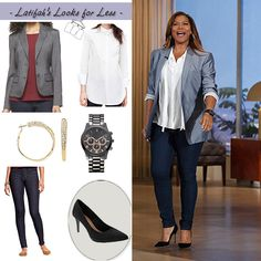 My office look :) | My Look for Less: Thursday, November 27, 2014 | Queen Latifah