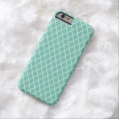 Green Pattern iPhone 6 Case
