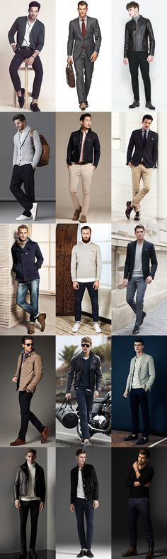 Men's Capsule Wardrobe Outfit Inspiration Lookbook