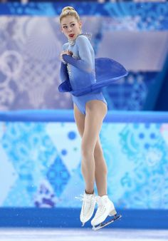 Gracie Gold lands all 11 of her jumps in her program on Sunday.