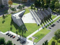 Winning design for victims of communism memorial features 100 million 'memory squares'