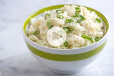 This extra creamy mashed cauliflower recipe is easier than mashed potatoes. Our recipe makes cauliflower that's light, fluffy, and creamy all in the same bite. Cauliflower Puree, Creamy Cauliflower, Cauliflower Recipes, Sloppy Joe Recipe With Tomato Soup, Best Sloppy Joe Recipe, Cake Recipes Without Milk, Quick Recipe Videos, Best Easy Dinner Recipes, Shredded Chicken Recipes