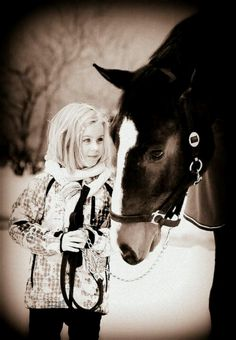 nothing better than a girl and her horse
