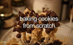 Little reasons to smile. I bake with my great grandma all the time they are always good