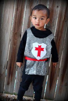 DIY Halloween Costume - knight in shining armor