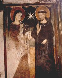 saint clare of assisi patron saint of needleworkers - Google Search