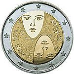 Todas las Monedas de 2 Euros Conmemorativas de Finlandia   Numismatica Visual Tove Jansson, Timbre Collection, Euro Coins, Coin Design, Commemorative Coins, Design Museum, Fun Facts, Personalized Items, Images