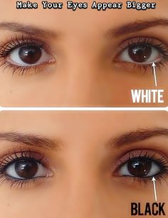Make Your Eyes Appear Bigger