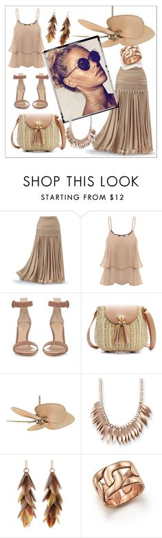 """Untitled #246"" by chanlee-luv ❤ liked on Polyvore featuring Gianvito Rossi, Fanimation, Kim Rogers, Ashley Pittman and Pomellato"