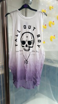 Hey, I found this really awesome Etsy listing at https://www.etsy.com/uk/listing/251344881/dip-dyed-fall-out-boy-shirt