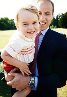 The palace has released a new photo of Prince George the day before he turns 2 years old.