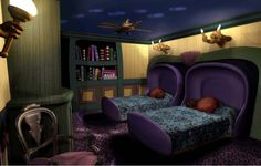 disney room Haunted Mansion!!! I'd stay there!