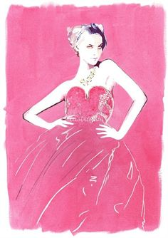 Christian David Moore #fashion #illustration