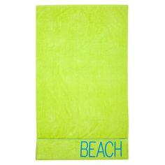 Toalla de playa con bolsillos El Corte Inglés Beach