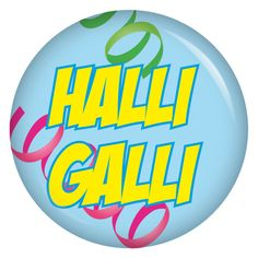 kiwikatze Button Halli Galli