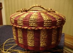 Passamaquoddy Tribe basket