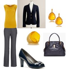 """Office Wear"" by christinehege on Polyvore"