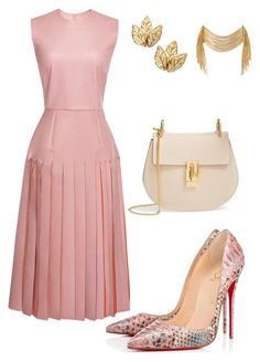 Helia's style theory by heliaamado on Polyvore featuring Roksanda, Christian Louboutin and Chloé