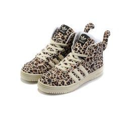 Adidas Jeremy Scott Leopard Shoes For Women