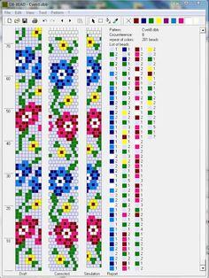 BeadedCrochet_FlowerSchemes