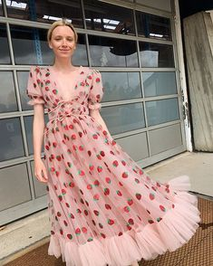 Tulle Ball Gown, Tulle Prom Dress, Ball Gowns, Party Dress, Stylish Dresses, Nice Dresses, Fashion Dresses, Girls Dresses, Strawberry Dress
