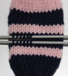 Fokus på strikk: Oppskrift: Votter til småbarn Knitted Hats, Beanie, Knitting, Fashion, Moda, Tricot, Fashion Styles, Breien, Stricken