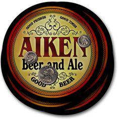 Beer Coasters Aiken Pence Swann Bello Still Slade Adame Bundy Cecil Speer Birch…