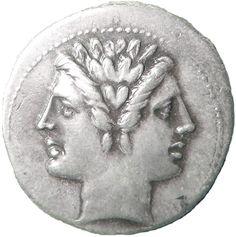 Janus on Roman coin